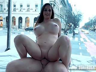 Hungarian guy involves the woman in sex without knowing that it's pornstar Cathy Heaven