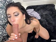 Guy kept slender MILF company when she was undressing on camera and for subsequent fucking
