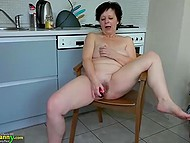 Compilation of naughty grannies who love having fun with pretty young girls and new dildos